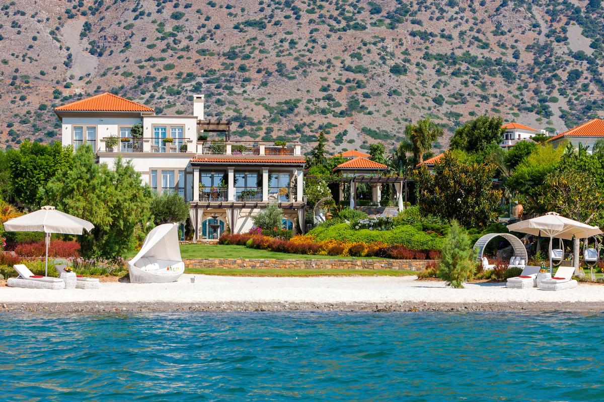 Mansions Luxury BEACHFRONT VILLA in Greece