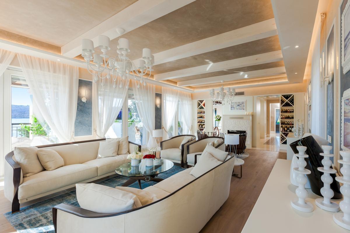 Luxury BEACHFRONT VILLA in Greece luxury real estate
