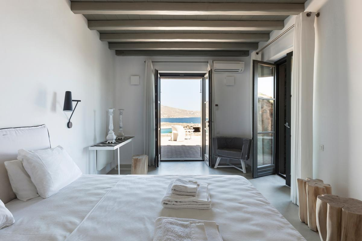 Luxury Seafront Villa in Mykonos luxury real estate