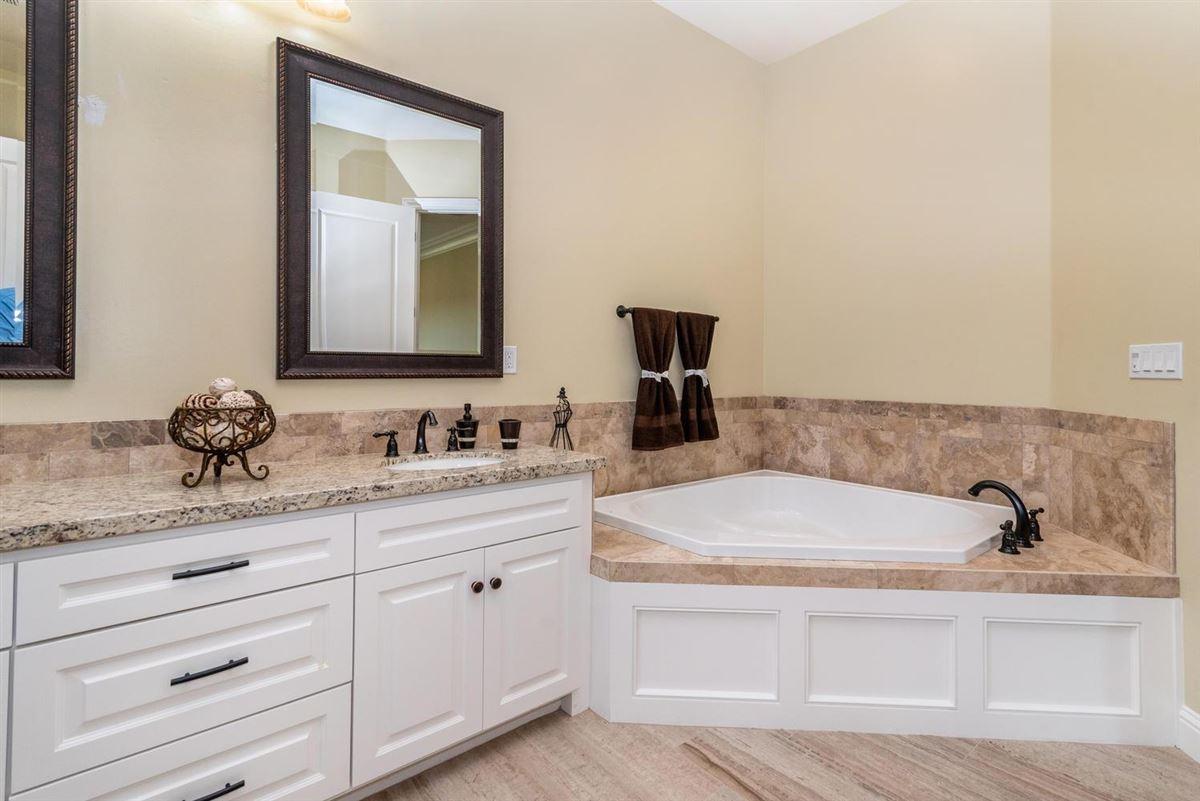 Luxury real estate brand new custom home in gated Serrano