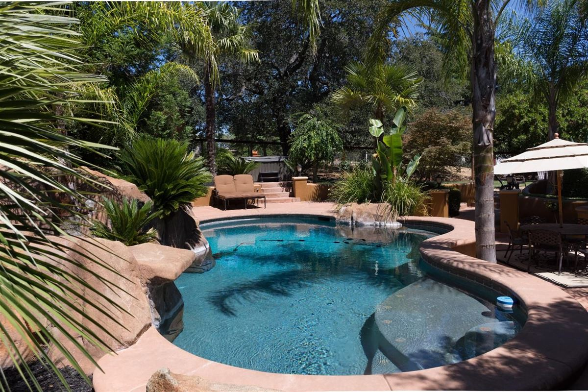 Luxury real estate Custom gated home on five acres