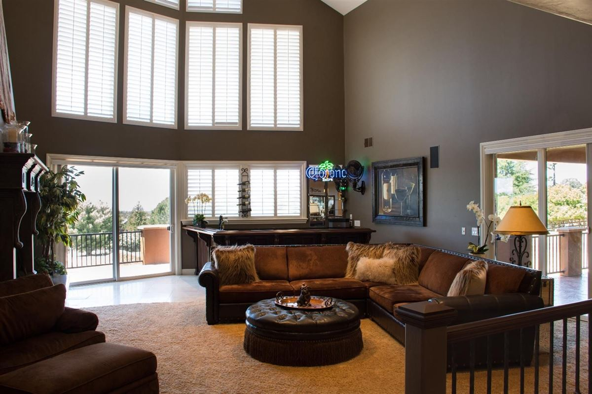 Mansions Custom gated home on five acres