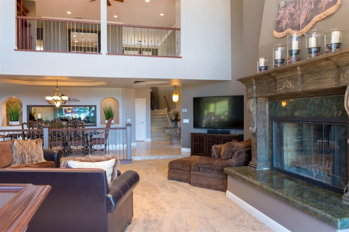 Mansions in Custom gated home on five acres
