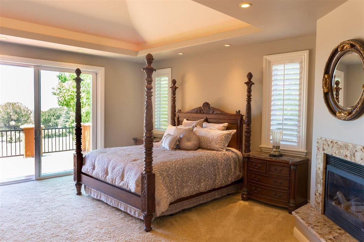 Custom gated home on five acres luxury homes