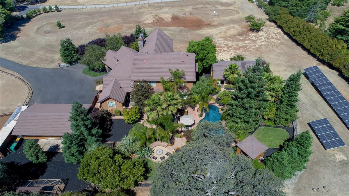 Custom gated home on five acres luxury real estate