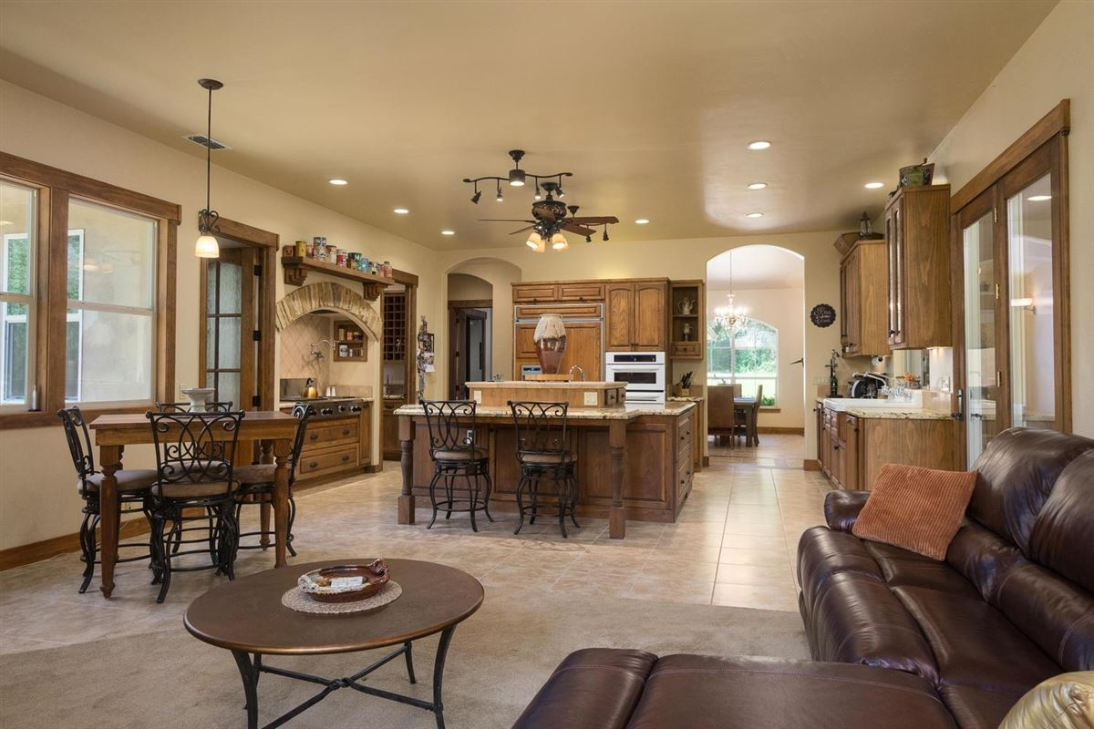 Mansions in gorgeous custom home with unique character