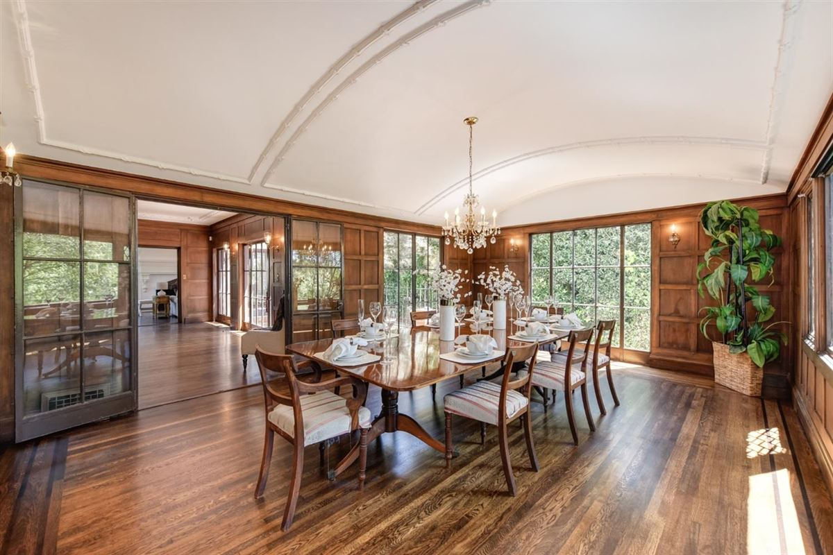 Luxury real estate 1913 Tudor with Timeless Architectural Elegance