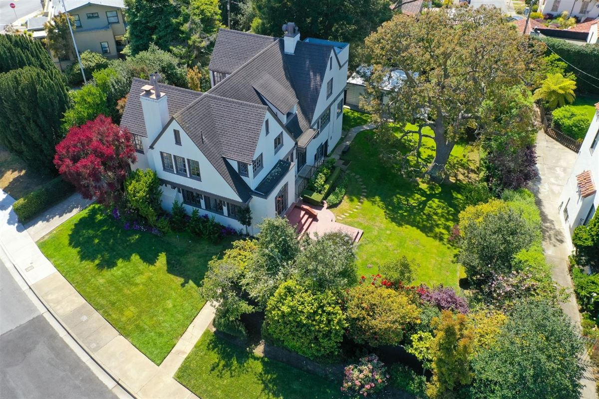 1913 Tudor with Timeless Architectural Elegance  mansions