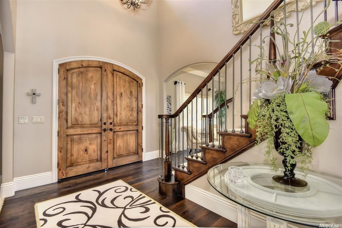 stunning, custom-built home in rocklin luxury homes