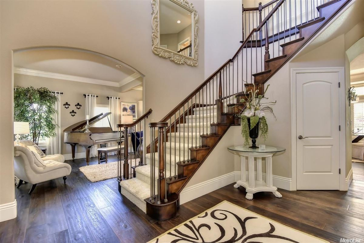 stunning, custom-built home in rocklin luxury real estate
