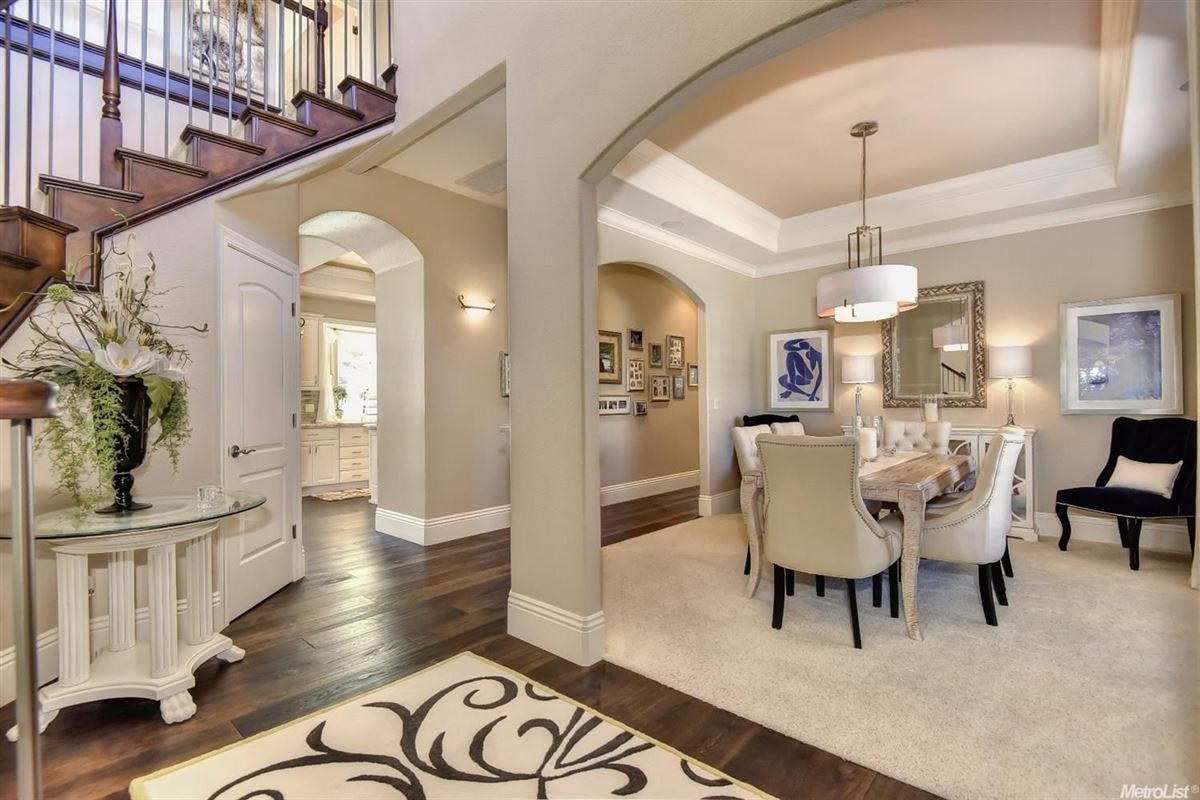 Luxury properties stunning, custom-built home in rocklin