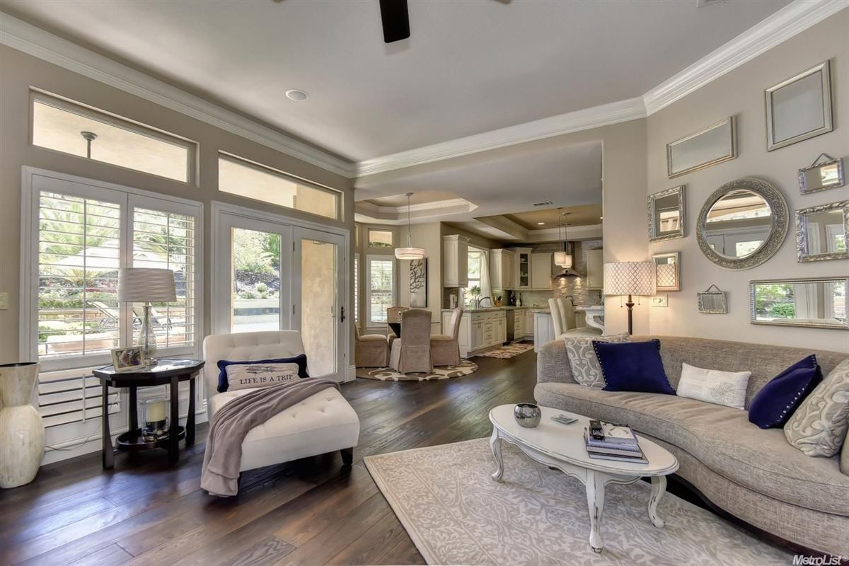stunning, custom-built home in rocklin mansions