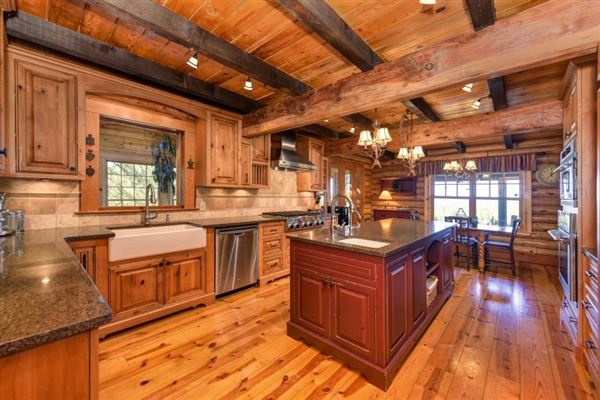 an extraordinary log home luxury homes