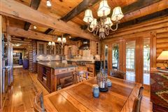 Luxury real estate an extraordinary log home