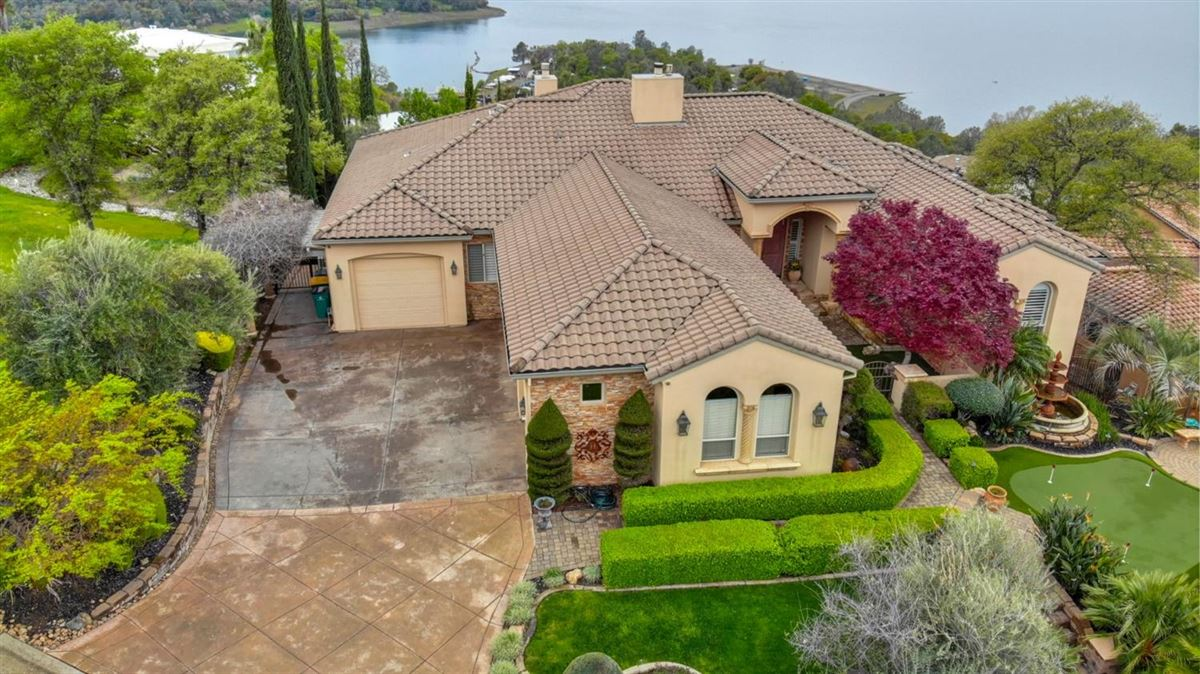 Luxury real estate fun and relaxation with lake views