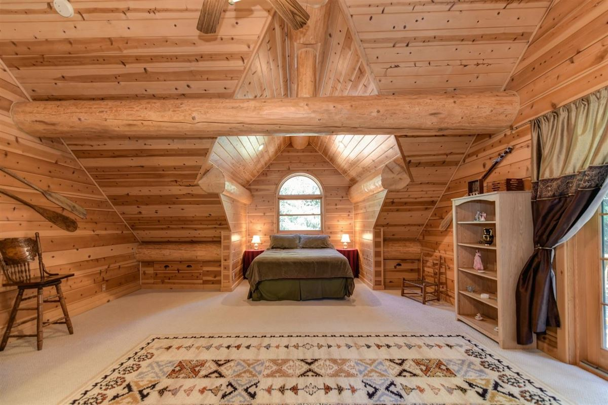 Mansions Gorgeous Handcrafted Log Home