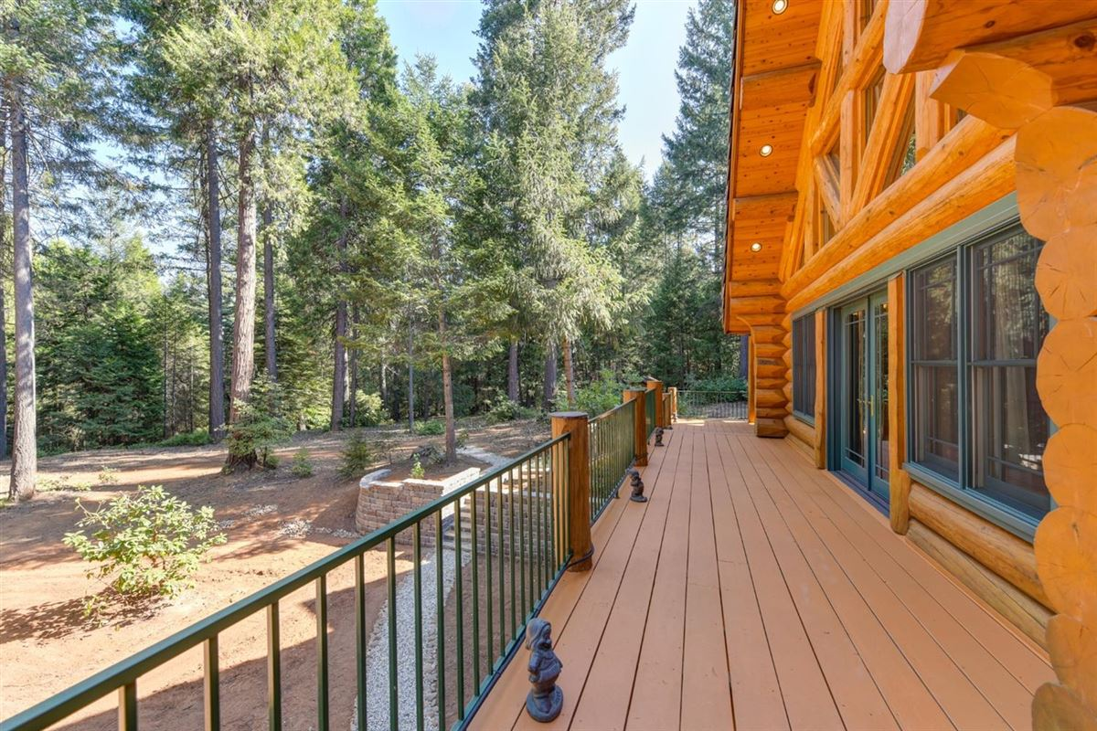Luxury properties Gorgeous Handcrafted Log Home