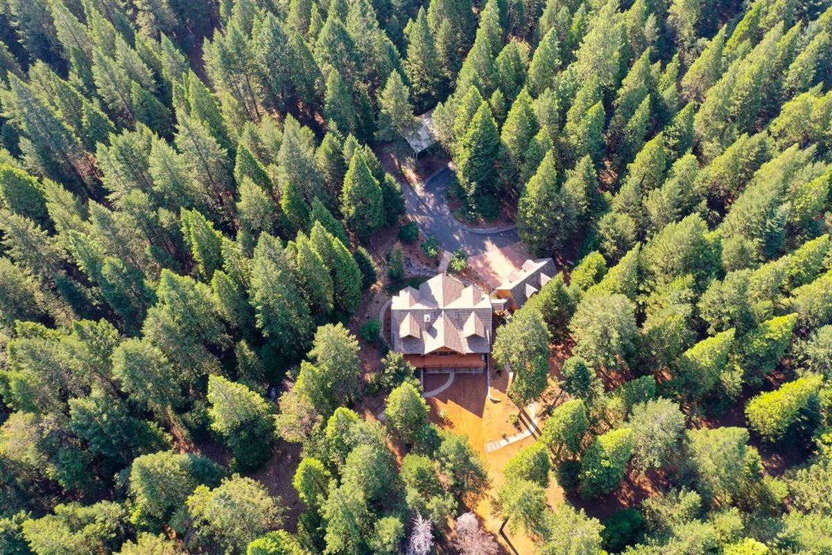 Gorgeous Handcrafted Log Home luxury real estate