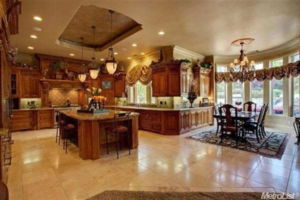 Spectacular Custom Built Estate In Granite Bay luxury real estate