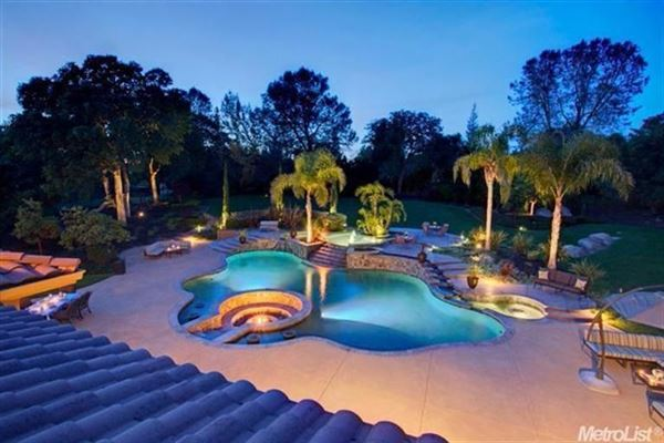 Luxury real estate Spectacular Custom Built Estate In Granite Bay