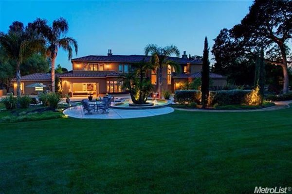 Spectacular Custom Built Estate In Granite Bay luxury properties