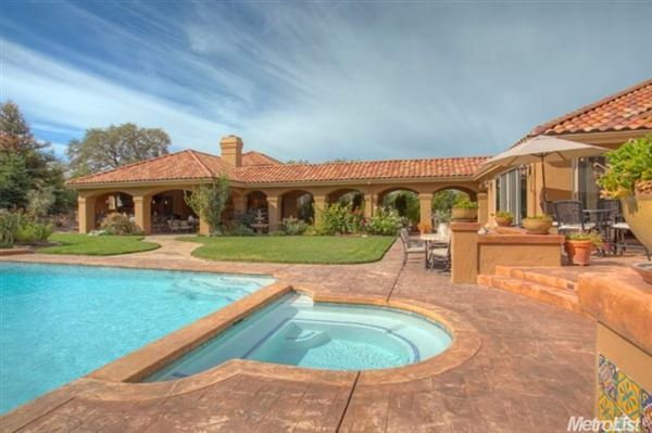 Elegant home in granite bay luxury real estate