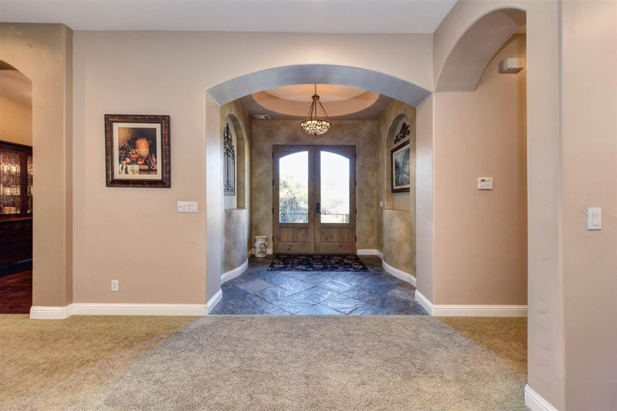 spectacular home in Exclusive Canyon View Estates mansions