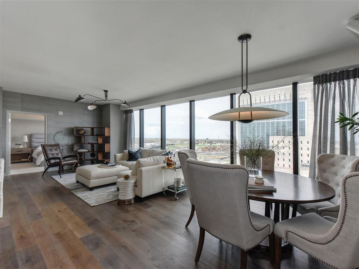 Luxury real estate exclusive upscale condo residences