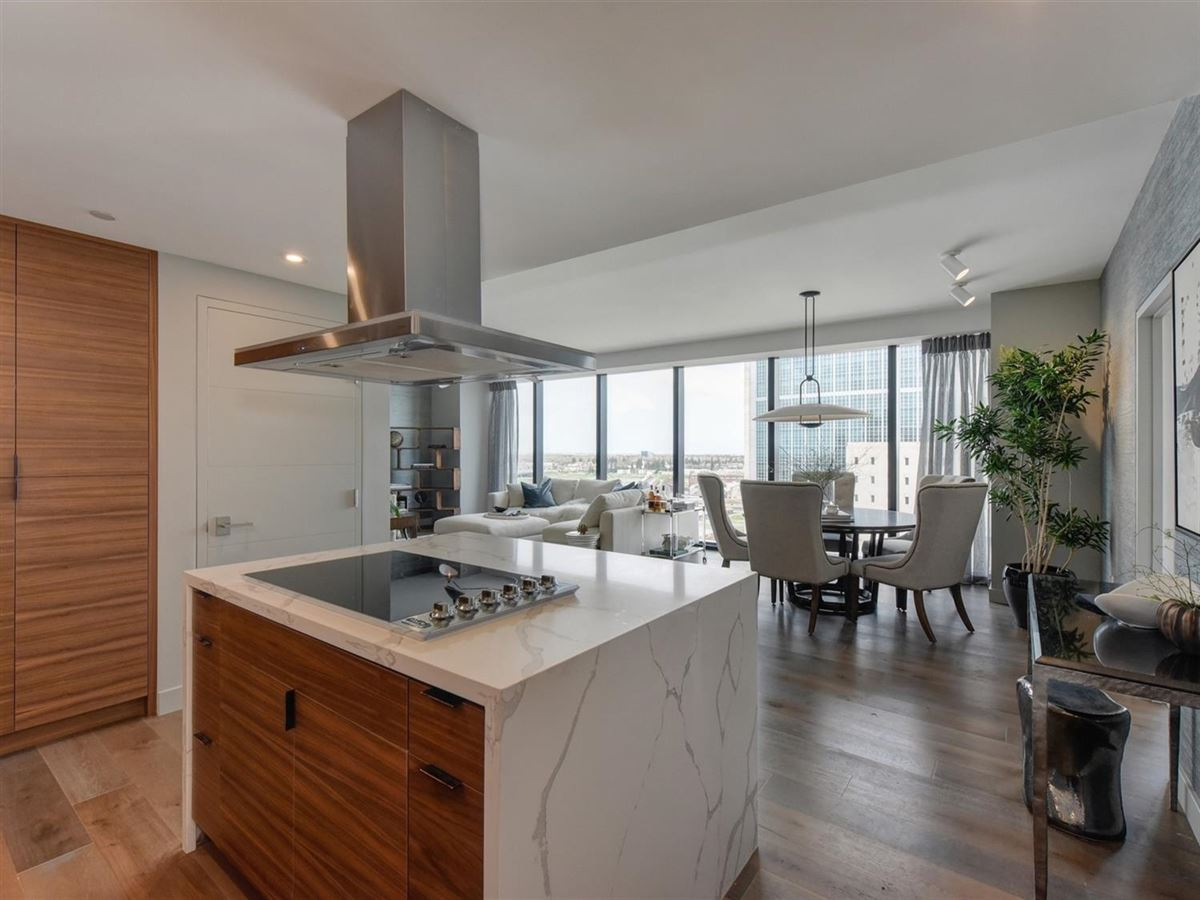 Luxury homes in exclusive upscale condo residences