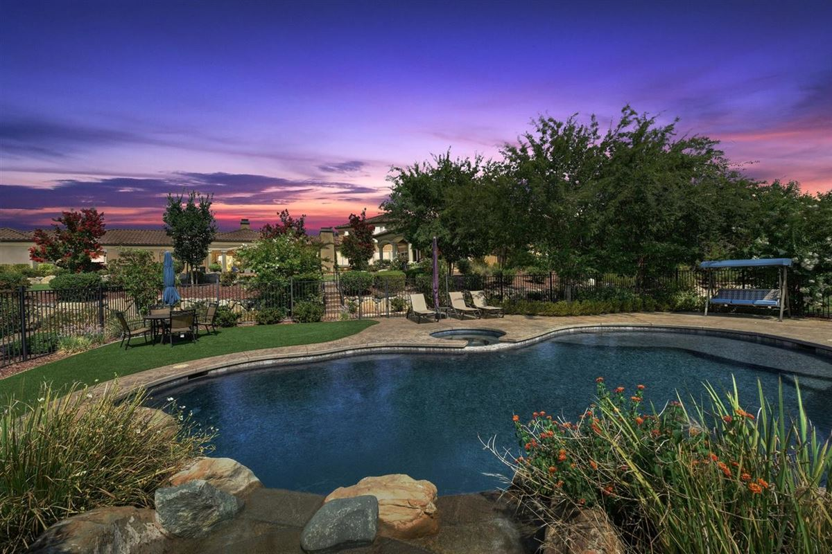 Luxury homes luxurious Mediterranean estate in granite bay