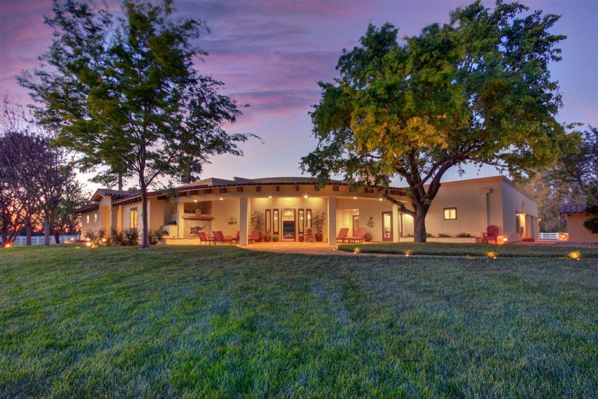 secluded mission style home on 13-plus acres mansions