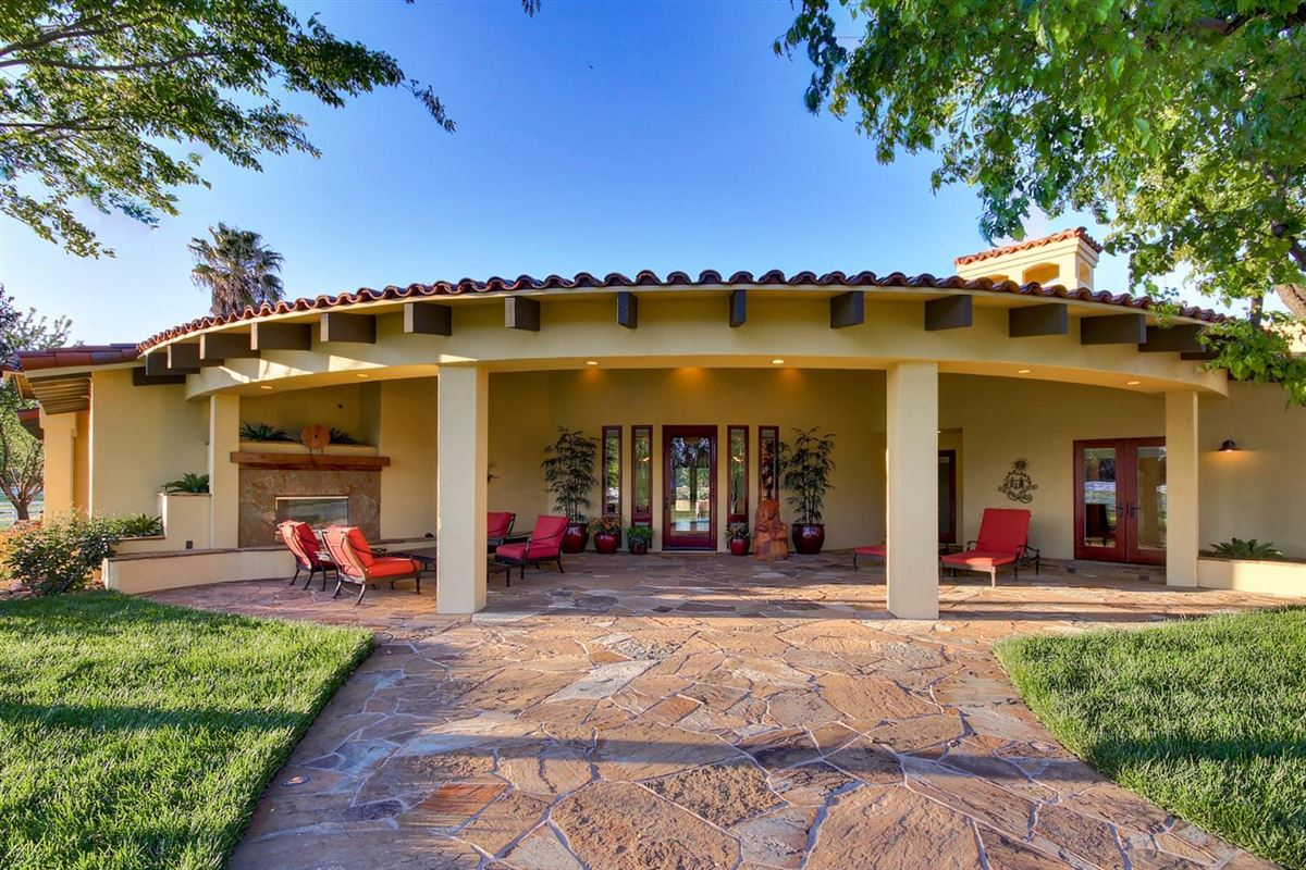 Luxury homes in secluded mission style home on 13-plus acres