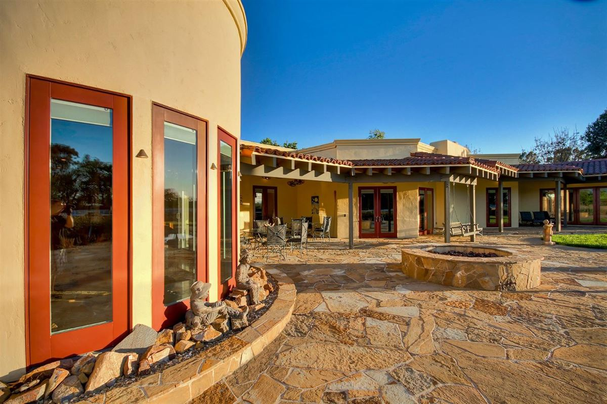 secluded mission style home on 13-plus acres luxury homes