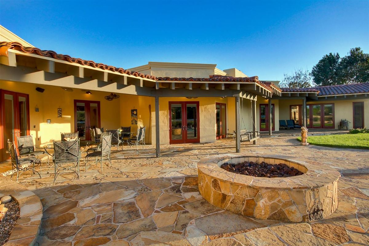 Luxury real estate secluded mission style home on 13-plus acres