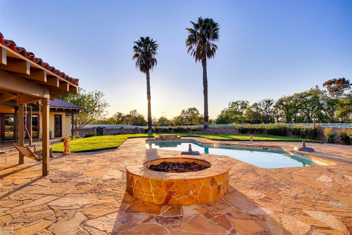 secluded mission style home on 13-plus acres luxury real estate