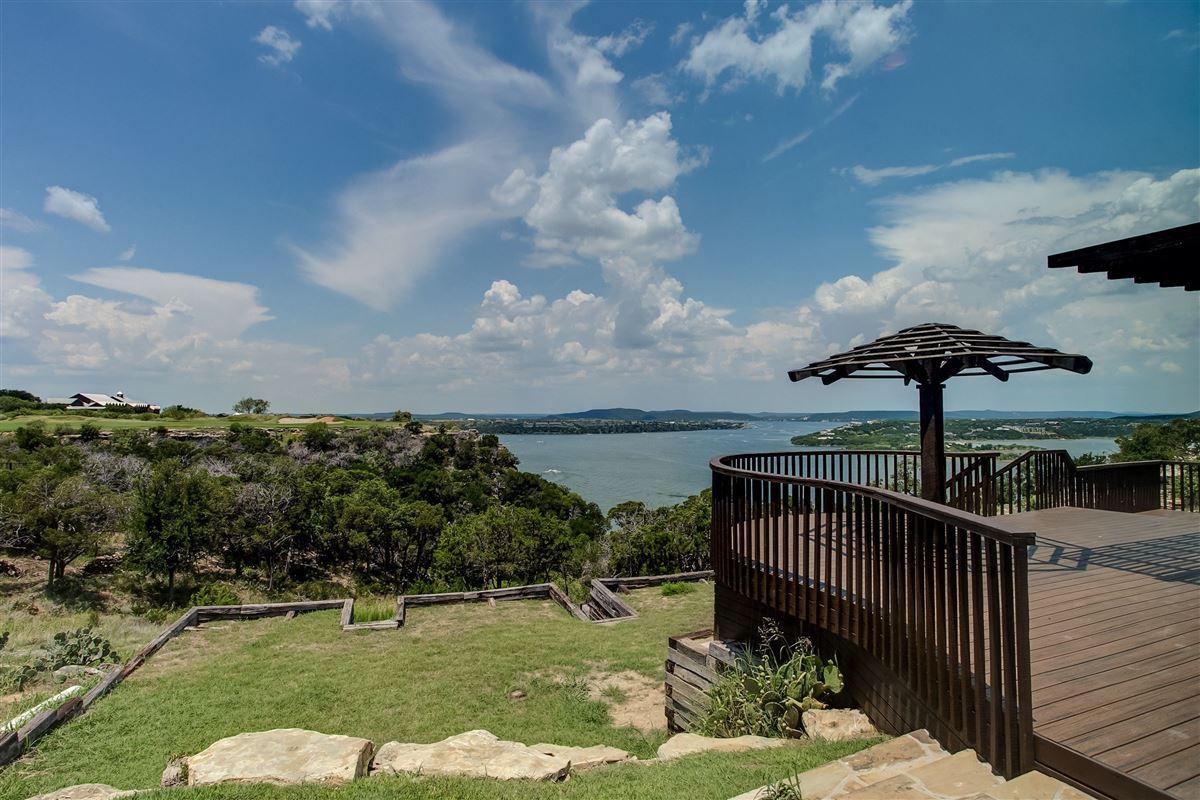 Mansions in spacious jewel in possum kingdom lake