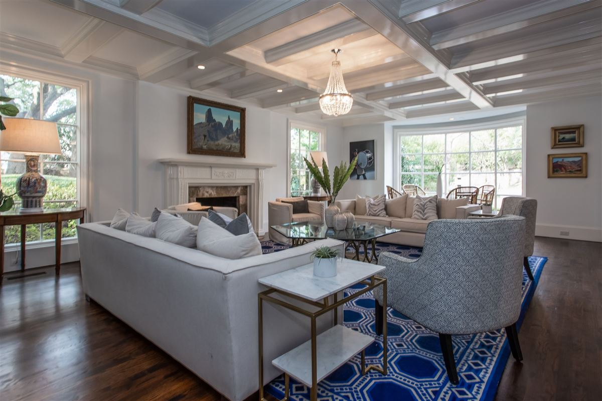 traditional home in the heart of Westover Hills luxury real estate