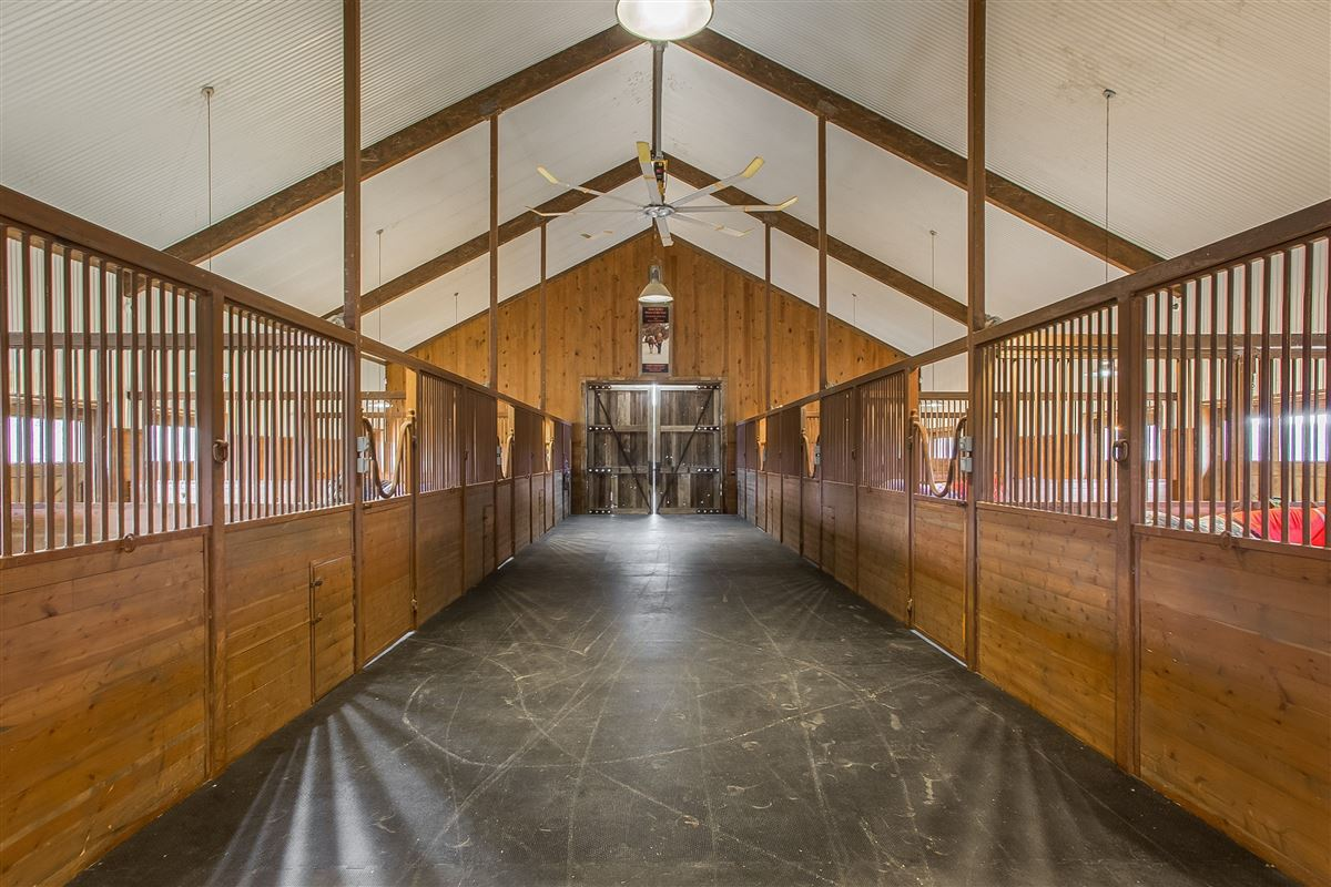 wonderfully executed equine property  luxury real estate
