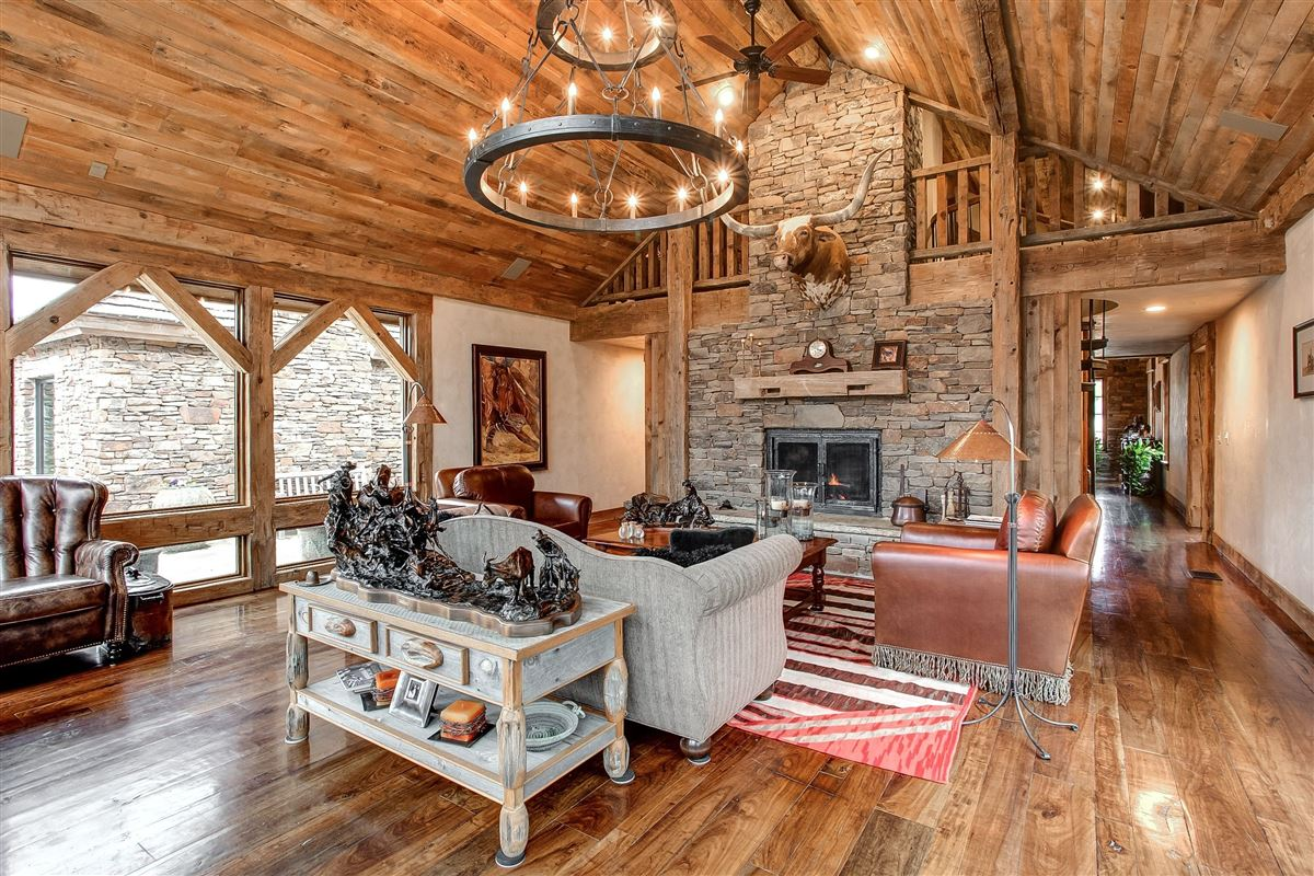 Luxury homes in flying a ranch