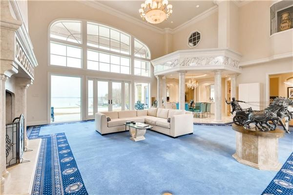 Luxury properties Palatial waterfront home