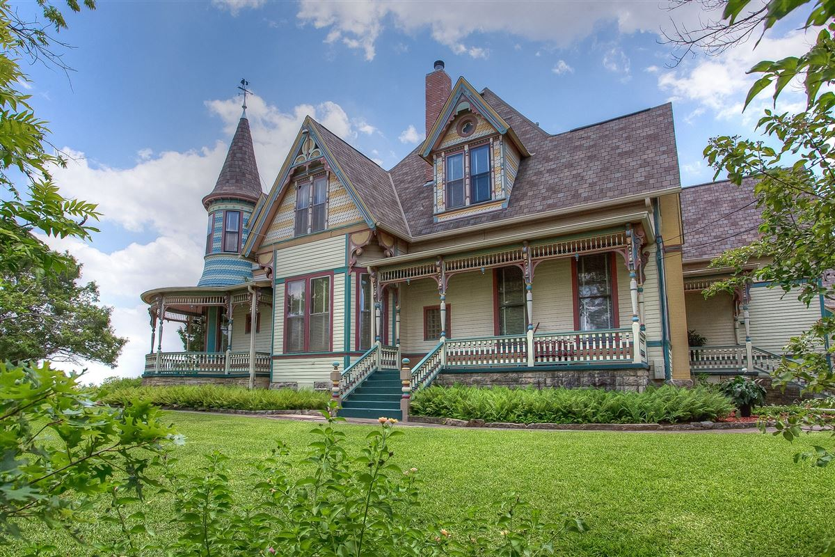 Queen Anne style Victorian painted lady luxury real estate