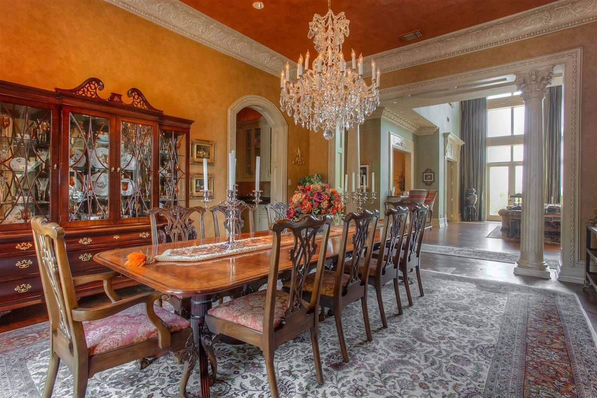 magnificent estate on sought after Overton Crest luxury homes