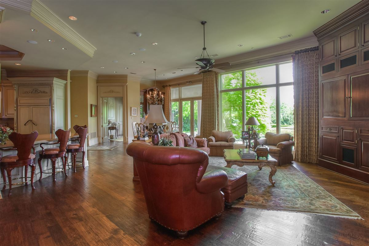magnificent estate on sought after Overton Crest luxury real estate