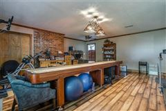 Prestigious horse facility with large ranch home luxury homes