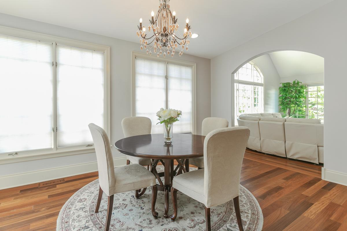 Custom home in Conway Farms mansions
