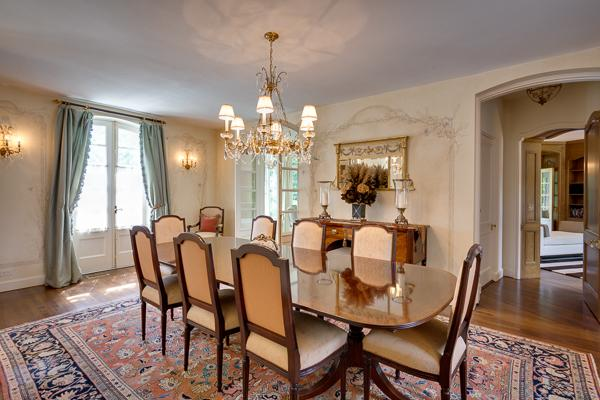 Luxury real estate Classic stone French Manor Home