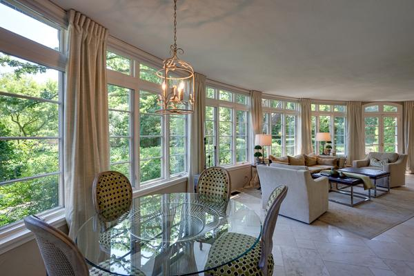 Luxury homes Classic stone French Manor Home