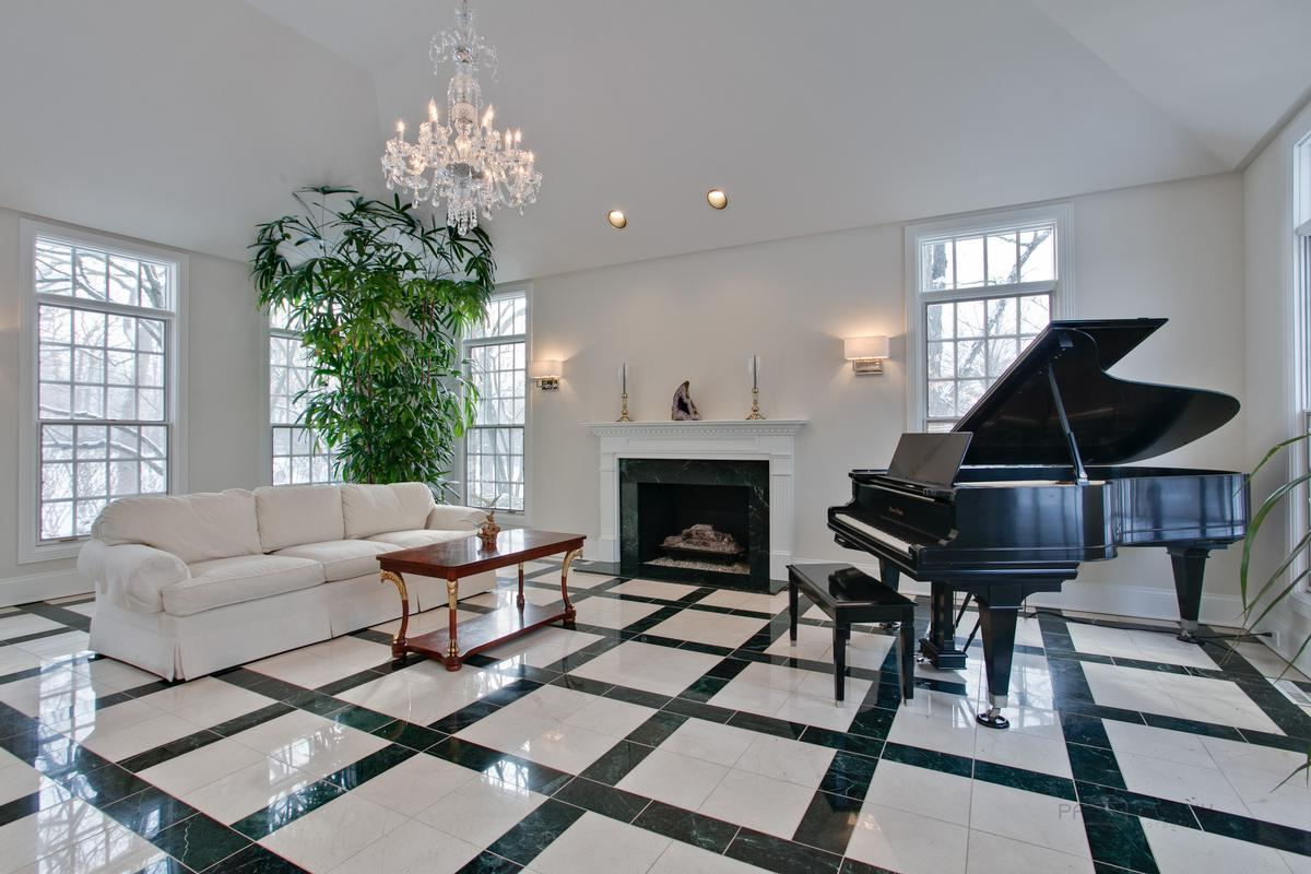magnificent setting on beautiful street luxury real estate