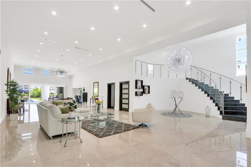 Luxury real estate Beautiful Contemporary on intracoastal waterway