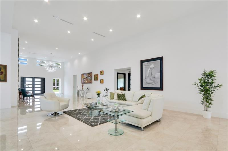 Beautiful Contemporary on intracoastal waterway luxury real estate